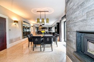modern interior dining room Liverpool