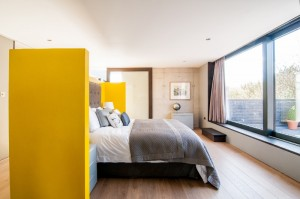 interior bedroom with modern design