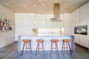 interior kitchen with modern design