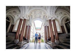 Albany House communal hallway Liverpool