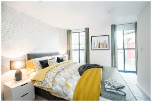 House Interior bedroom image with window view