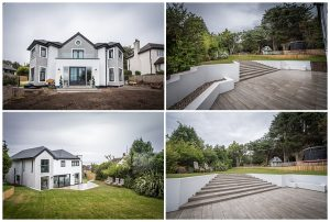 House and garden in the wirral