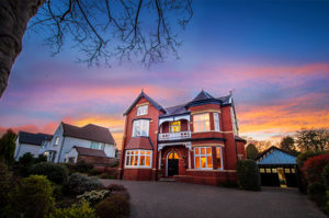 house at Dusk in Birkdale