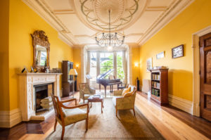 period room painted yellow